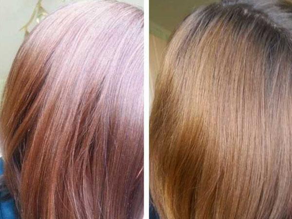 Как смыть тоник для волос в домашних условиях 389