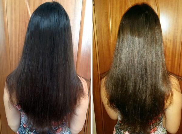 От черных волос к светло-русым